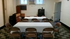 Lower Fellowship Hall, small room