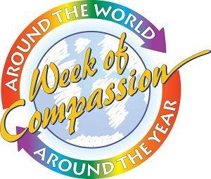 Week of Compassion- Around the world, Around the Year